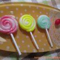 ゼリービーンズとキャンディ作り♪透明粘土に四苦八苦~がくぶんスイーツデコ製作講座レポ【4】~