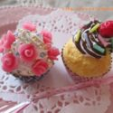 キラキラ可愛い☆2種のカップケーキ作りに挑戦♪~がくぶんスイーツデコ製作講座レポ【15】~